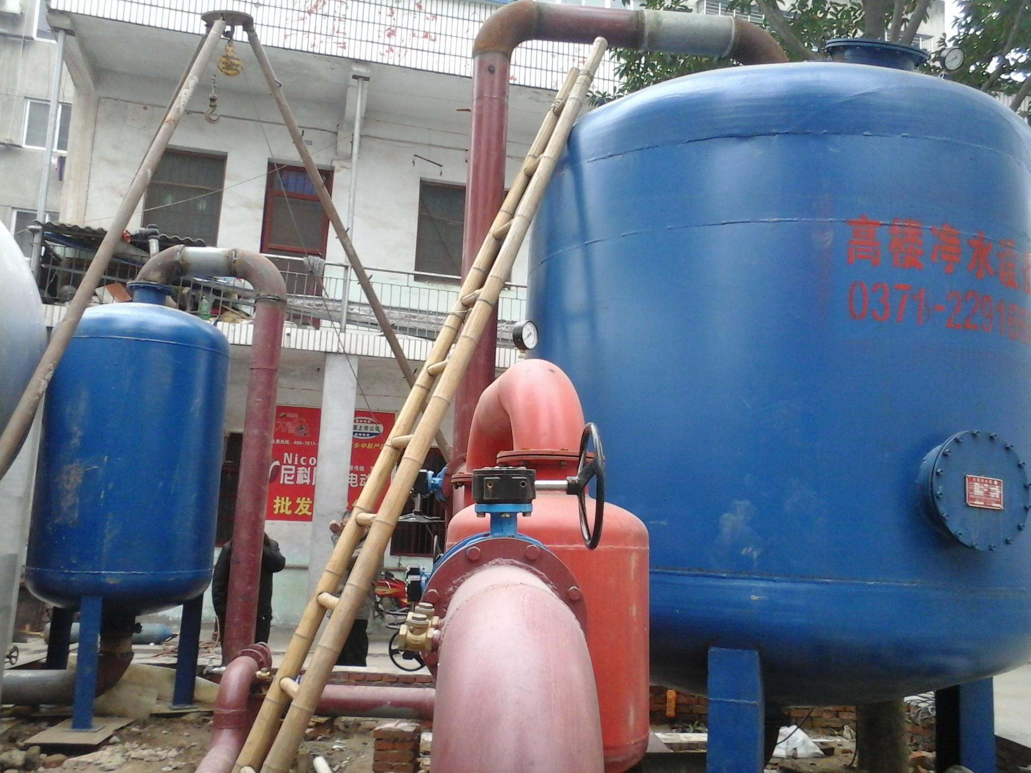净水设备安装完工图